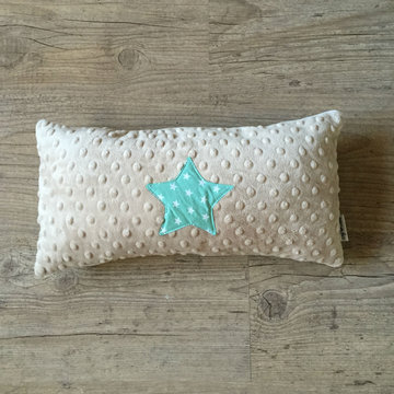 Sierkussen - Ster - Mint Stars